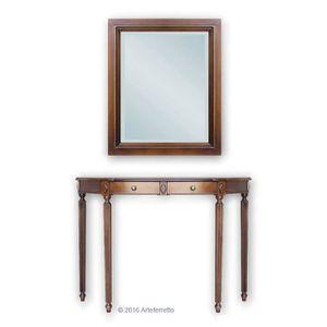 MEUBLE D'ENTRÉE Composition console et miroir pour l'entrée