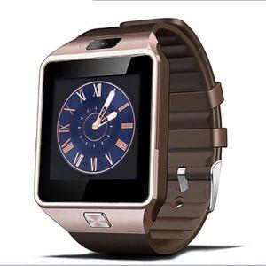 MONTRE CONNECTÉE Or Bluetooth montre Smart Watch Phone + Caméra Car