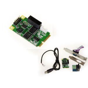 CARTE CONTROLEUR Carte Mini PCIe RS232 RS422 RS485 (mPCIe) - Avec p