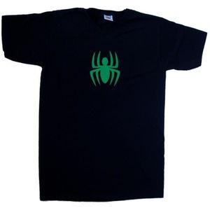 T-SHIRT T-shirt Halloween araignée avec col en V