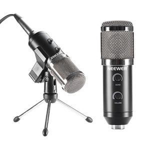 MICROPHONE NEEWER NW-300E USB Microphone Condensateur Noir +