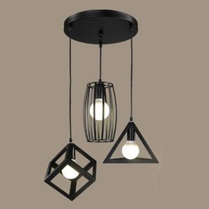 lampe suspension chapeau noir en m tal luminaire lampe de plafond vintage industriel pour salle. Black Bedroom Furniture Sets. Home Design Ideas