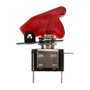 Mintice/™ 10 X Interrupteur Inverseur /à Bascule Levier 12V 20A LED Violet Lot de Voiture Moto