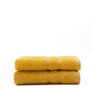 SERVIETTES DE BAIN TODAY Lot de 2 Serviettes de toilette Safran - 100