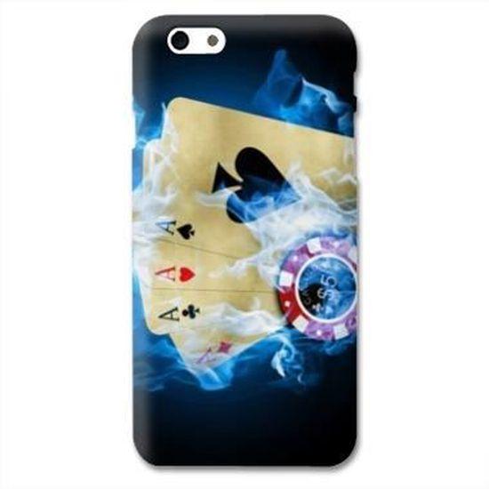 Coque Iphone 6 Casino - - Poker flamme
