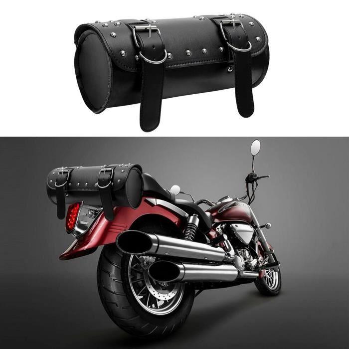 LEEPEE – sac à dos en cuir PU pour Moto, pochette de rangement, sacoche de selle, sac de réservoir, bagage de Moto, [ABA66D9]