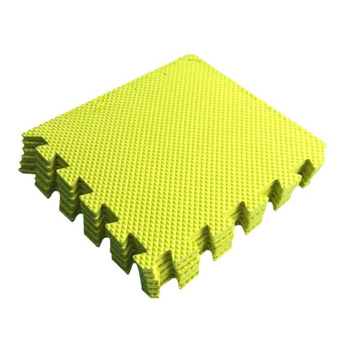 Tapis de jeu pour enfants tapis de sol Imitation plancher en bois confortable jeu de jeu à la maison de couleur foncée douce