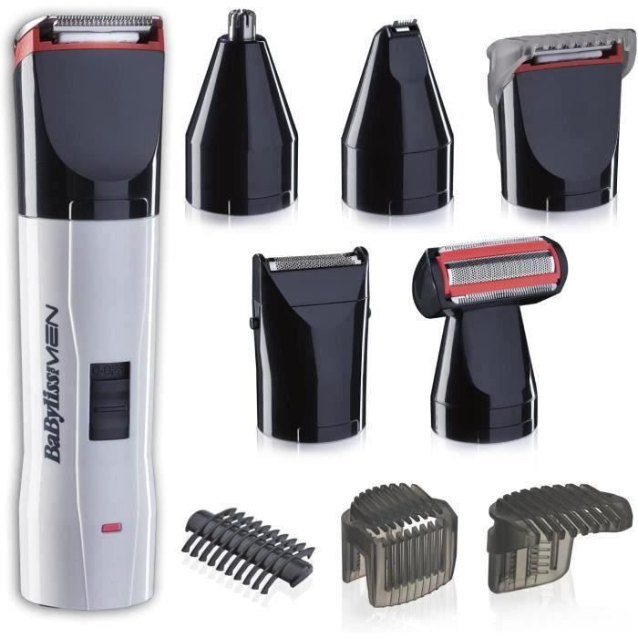 BaByliss For Men - T839E - Tondeuse multi-usages compacte