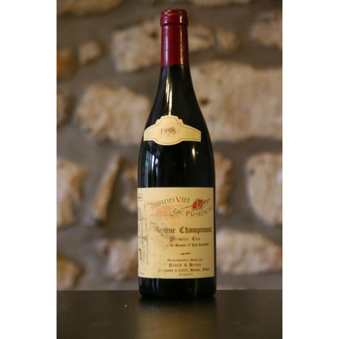 Beaune 1er cru Champimont Domaine Puech et Besse 1996 Simple