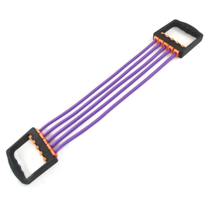 Corde en caoutchouc élastique réglable, adaptée aux sports, aux exercices d'étirement de la poitrine, aux exercices de fitness