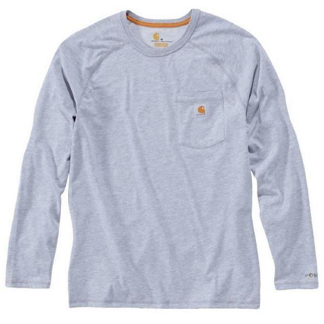 Carhartt - T-Shirt Force manches longues gris XXL