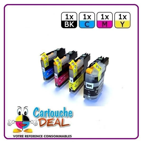 1+3 BROTHER DCP J4110DW MFC J4410DW J4510DW J4610 Cartouche générique compatible