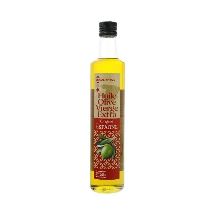 [LOT DE 5] Huile d'olive vierge extra origine Espagne - 500ml