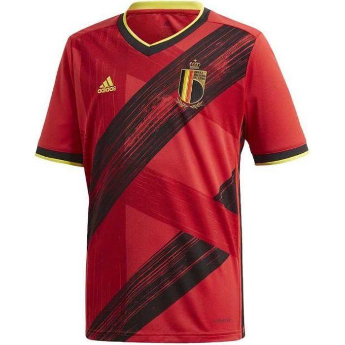 Maillot Adidas Belgique Domicile rouge enfant