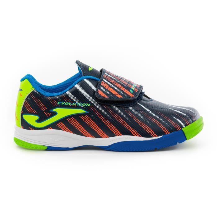 Chaussures de football enfant Joma Indoor EVOLUTION 2003 - bleu marine/vert - 37