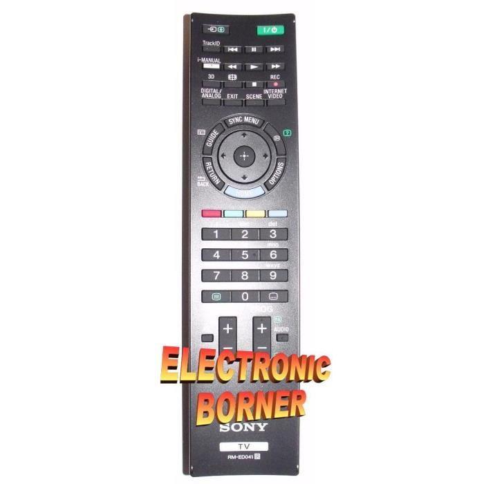 Télécommande d'origine SONY RM-ED041 ED041 RM RM RM ED041 ED041