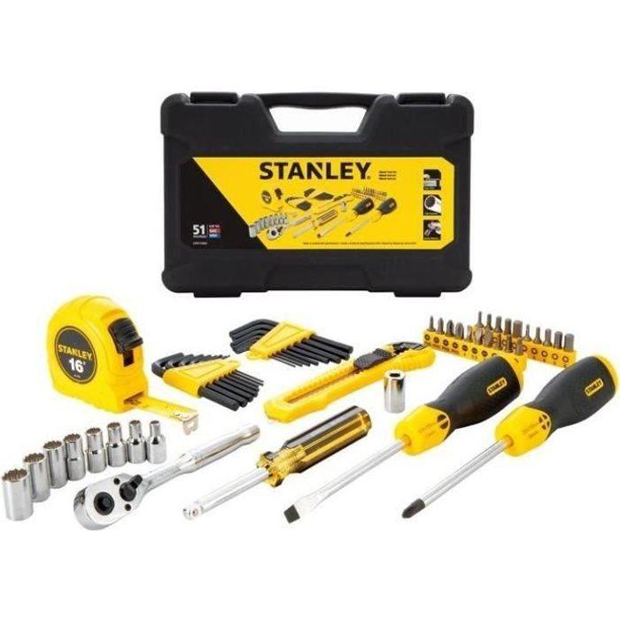 STANLEY Coffret outils 51 pièces STMT0-74864