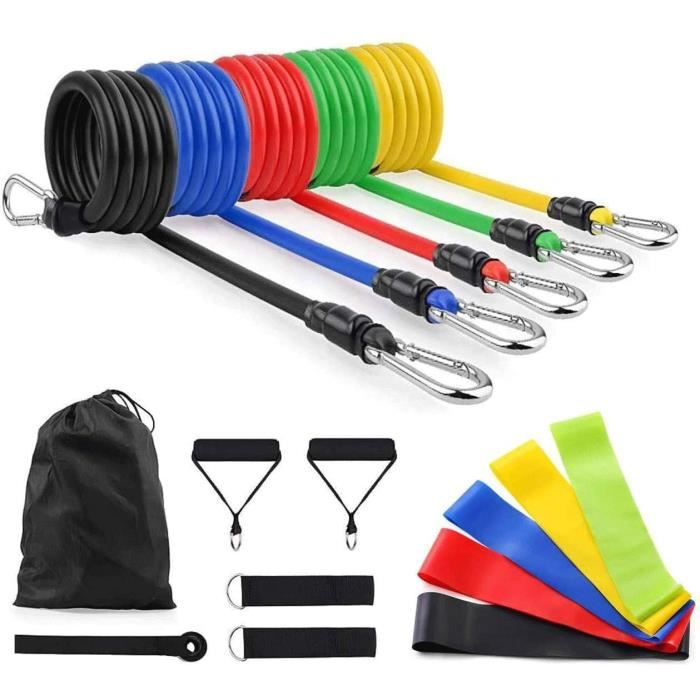 Costume de bande de résistance élastique pour hommes Exercice à domicile Accessoires de fitness Équipement de sport