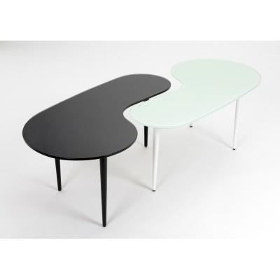 Table ying yang achat vente table basse table ying for Meuble ying yang