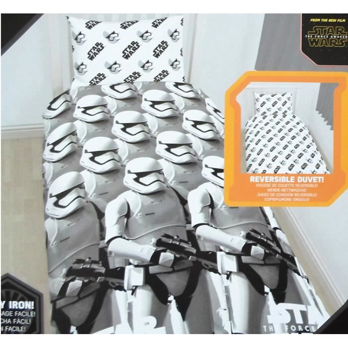 parure de lit enfant star wars achat vente lit complet parure de lit enfant star w cdiscount. Black Bedroom Furniture Sets. Home Design Ideas