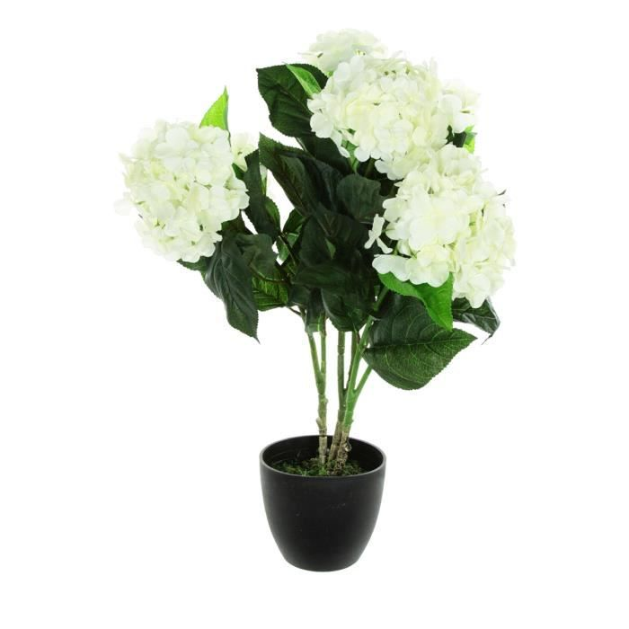 hortensia artificiel blanc achat vente fleur artificielle s ch e cdiscount. Black Bedroom Furniture Sets. Home Design Ideas