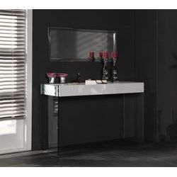 Console murale design maud 3 miroirs coloris achat for Console murale design