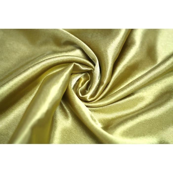 Beige Tissu doublure polyester au m/ètre Avenue des Tissus