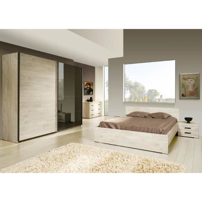 chambre coucher adulte compl te berlin ii achat vente chambre compl te chambre coucher. Black Bedroom Furniture Sets. Home Design Ideas