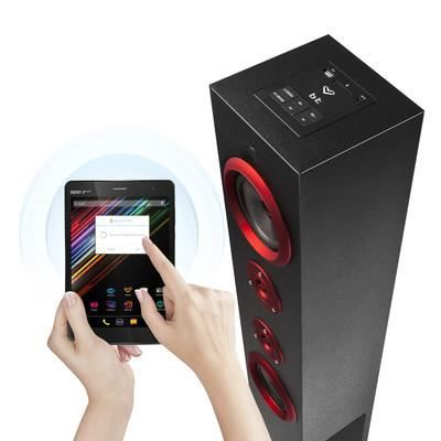 tour haut parleur bluetooth usb sd radio 60w enceintes bluetooth prix pas cher cdiscount. Black Bedroom Furniture Sets. Home Design Ideas