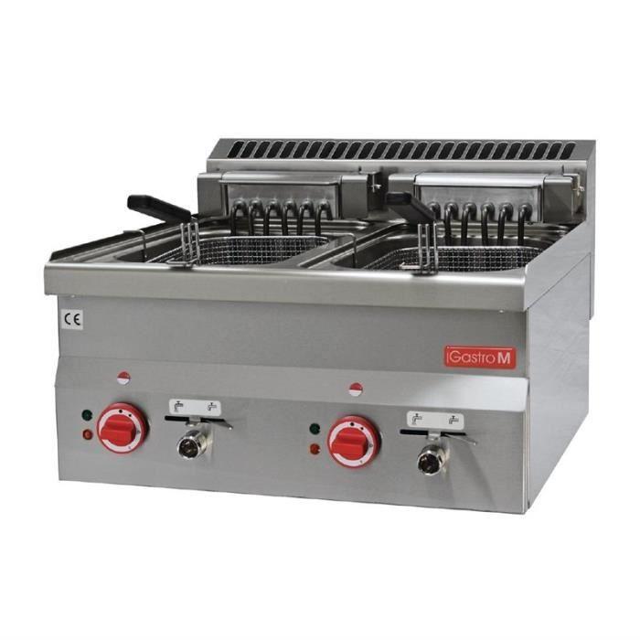 FRITEUSE ELECTRIQUE Friteuse électrique 2x 10 litres 600 mm FRE