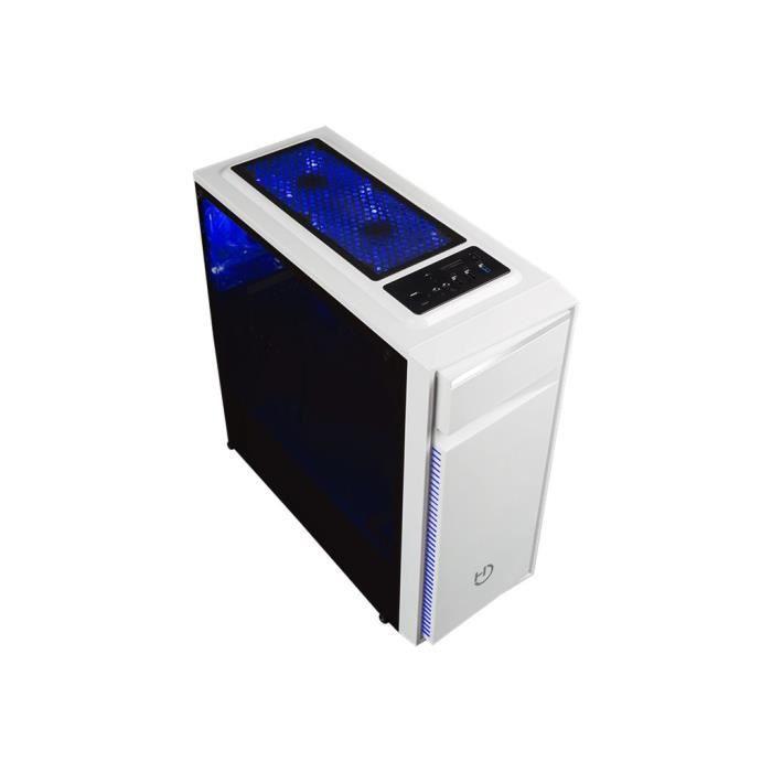 BOITIER PC  HIDITEC NG-Z1 Tour ATX pas d'alimentation (ATX) bl