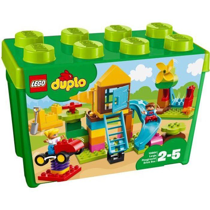 ASSEMBLAGE CONSTRUCTION LEGO® DUPLO® 10864 La grande boîte de la cour de r