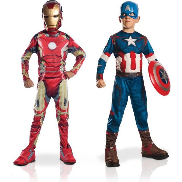 DÉGUISEMENT - PANOPLIE RUBIES - Ensemble Déguisements Captain América et