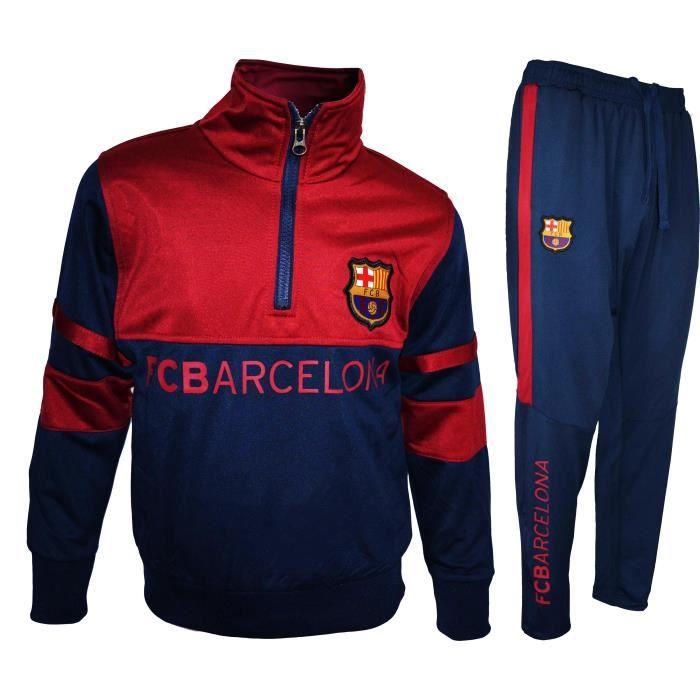 Fc Barcelone Veste zipp/ée Barca Collection Officielle Taille Enfant gar/çon