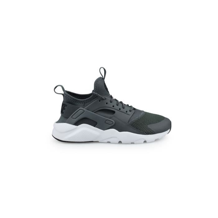 NIKE Baskets Air Huarache Run Ultra Enfant Gris