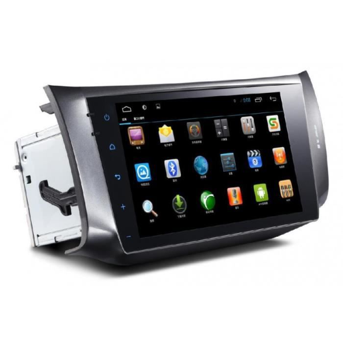 autoradio gps android ecran tactile 10 2 pouce pour nissan sylphy 2012 2015 achat vente. Black Bedroom Furniture Sets. Home Design Ideas