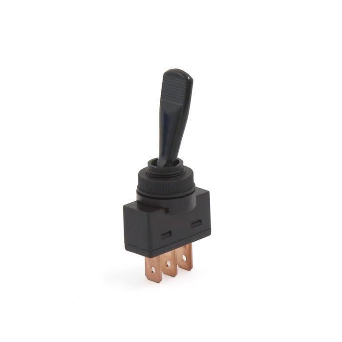 3pcs Bouton-Pression 1NO dans Interrupteur Panneau 3 Broche 2 on//Off Position