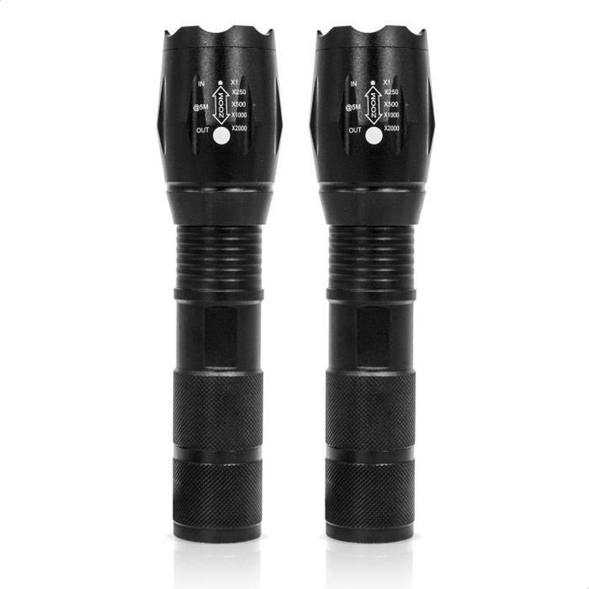 LAMPE DE POCHE Lampe de poche Led BRAVO ALFRED 5 modes d'éclairag