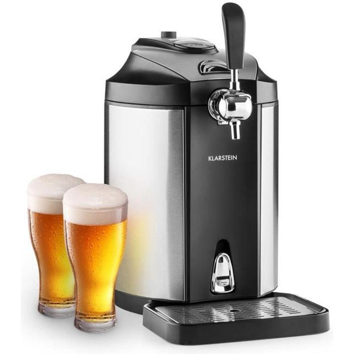 MACHINE A BIÈRE  Klarstein Skal Tireuse à bière inox 5L (système ca