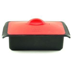 CASSOLETTE - TERRINE Terrine en silicone & presse Rouge