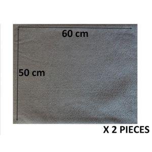 SERPILLIÈRE 2 SERPILLIERES GRISE  60 X 50 cm