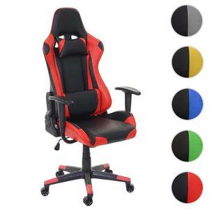 CHAISE DE BUREAU Chaise de bureau HWC-D25, fauteuil gamer, charge m