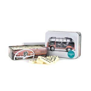 DOMINOS Jeu de domino dans une jolie boîte décorée VW Volk