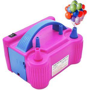 SALAKA 1PC gonfleur /à Pied en Plastique Jaune Bleu gonfleur pour Ballon Ballon