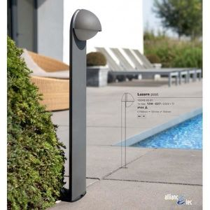 AMPOULE - LED Luzern Borne (Grand modèle) 1 x 12w IP44 Gris A...