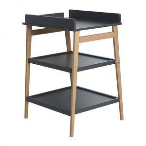 TABLE À LANGER Table à langer Quax Hip Moon Shadow/Naturel