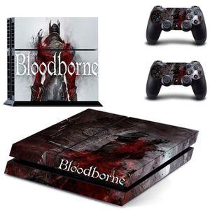 STICKER - SKIN CONSOLE Autocollant Skin PS4 Console-Bloodborne