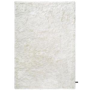 COUVERTURE - PLAID Tapis shaggy à poils longs Whisper Blanc 160x230 c