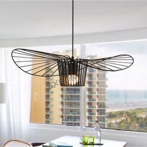 LUSTRE ET SUSPENSION EXBON Lustre Suspension E27 40cm Luminaire Créatif