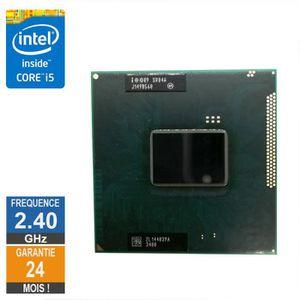 PROCESSEUR Processeur Intel Core i5-2430M 2.40GHz SR04W PPGA9